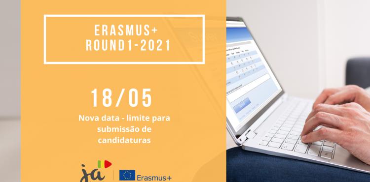 Nova data para candidaturas Erasmus+