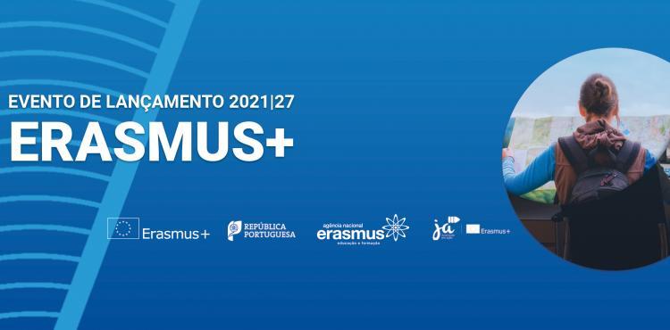 Lançamento nacional Erasmus+ 2021-27