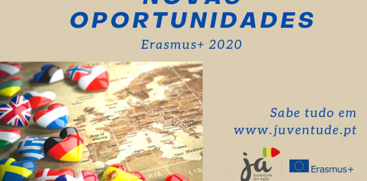 Novo Guia Erasmus+: Novas oportunidades